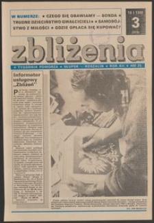 Zbliżenia : tygodnik społeczno-polityczny, 1990, nr 3