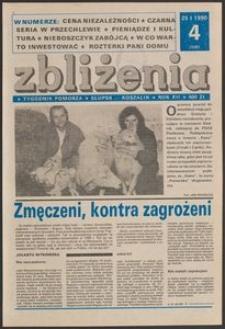 Zbliżenia : tygodnik społeczno-polityczny, 1990, nr 4