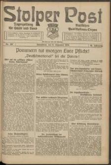 Stolper Post. Tageszeitung für Stadt und Land Nr. 287/1924