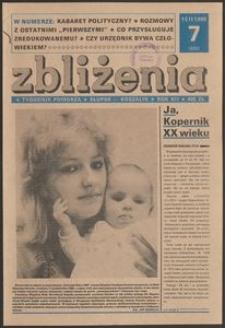Zbliżenia : tygodnik społeczno-polityczny, 1990, nr 7