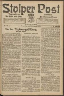 Stolper Post. Tageszeitung für Stadt und Land Nr. 297/1924