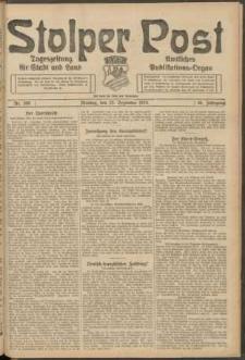 Stolper Post. Tageszeitung für Stadt und Land Nr. 300/1924