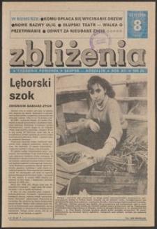 Zbliżenia : tygodnik społeczno-polityczny, 1990, nr 8