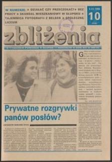 Zbliżenia : tygodnik społeczno-polityczny, 1990, nr 10