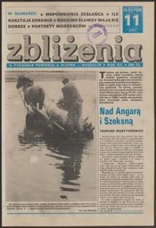 Zbliżenia : tygodnik społeczno-polityczny, 1990, nr 11