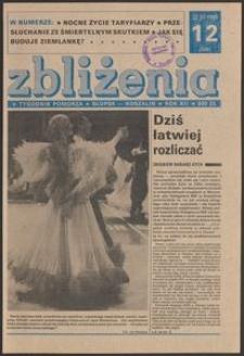 Zbliżenia : tygodnik społeczno-polityczny, 1990, nr 12