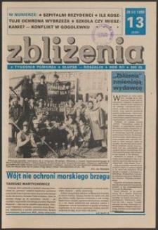 Zbliżenia : tygodnik społeczno-polityczny, 1990, nr 13
