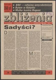 Zbliżenia : tygodnik prywatny, 1990, nr 16