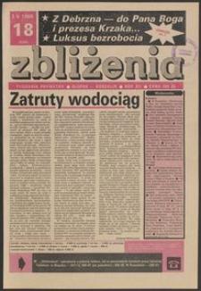 Zbliżenia : tygodnik prywatny, 1990, nr 18