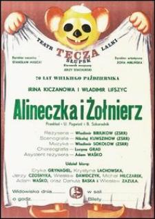 [Plakat] : Alineczka i żołnierz