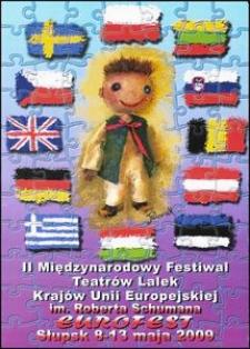 [Plakat] : II Międzynarodowy Festiwal Teatrów Lalek Krajów Unii Europejskiej im Roberta Schumana EUROFEST 2009