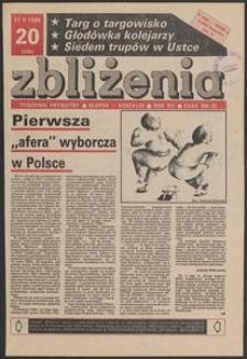Zbliżenia : tygodnik prywatny, 1990, nr 20