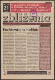 Zbliżenia : tygodnik prywatny, 1990, nr 21