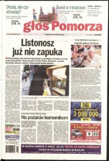 Głos Pomorza, 2004, pażdziernik, nr 244