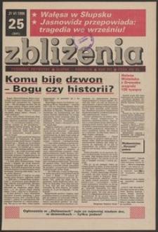 Zbliżenia : tygodnik prywatny, 1990, nr 25
