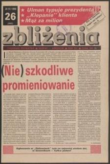 Zbliżenia : tygodnik prywatny, 1990, nr 26