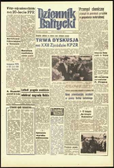 Dziennik Bałtycki, 1961, nr 255