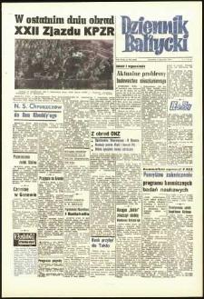 Dziennik Bałtycki, 1961, nr 262