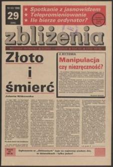 Zbliżenia : tygodnik prywatny, 1990, nr 29