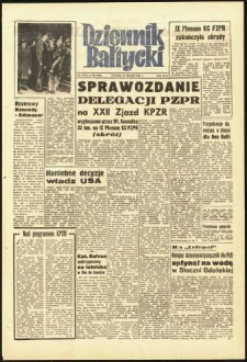Dziennik Bałtycki, 1961, nr 280