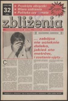 Zbliżenia : tygodnik prywatny, 1990, nr 32