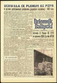 Dziennik Bałtycki, 1961, nr 281