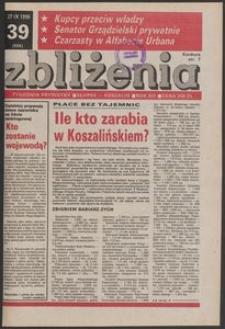 Zbliżenia : tygodnik prywatny, 1990, nr 39