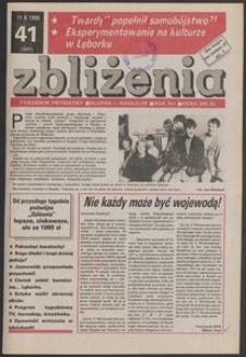 Zbliżenia : tygodnik prywatny, 1990, nr 41