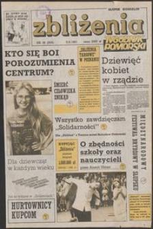Zbliżenia : tygodnik społeczno-polityczny, 1991, nr 36