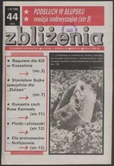 Zbliżenia : tygodnik prywatny, 1990, nr 44
