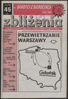 Zbliżenia : tygodnik prywatny, 1990, nr 45