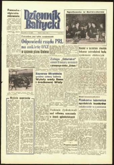 Dziennik Bałtycki 1962, nr 58