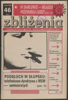 Zbliżenia : tygodnik prywatny, 1990, nr 46