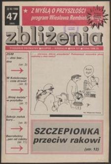 Zbliżenia : tygodnik prywatny, 1990, nr 47