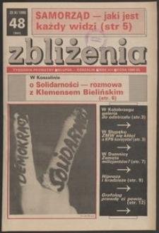 Zbliżenia : tygodnik prywatny, 1990, nr 48