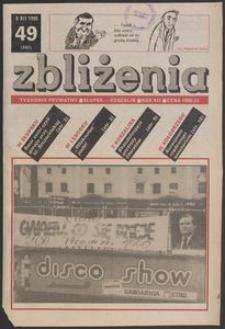 Zbliżenia : tygodnik prywatny, 1990, nr 49