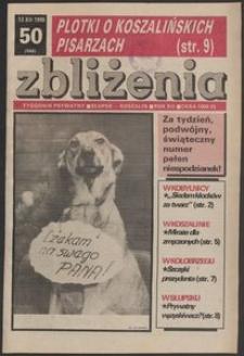 Zbliżenia : tygodnik prywatny, 1990, nr 50