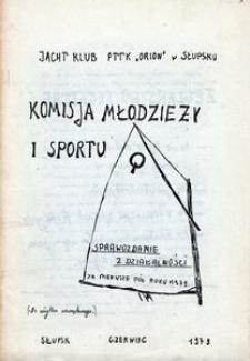 Komisja Młodzieży i Sportu : sprawozdanie z działalności za pierwsze pół roku 1979