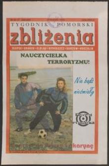 Zbliżenia : Tygodnik Pomorski, 1993, nr 16/17