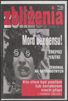 Zbliżenia : Tygodnik Pomorski, 1993, nr 3