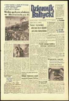Dziennik Bałtycki 1962, nr 180