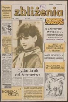 Zbliżenia : Tygodnik Pomorski, 1992, nr 8