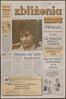 Zbliżenia : Tygodnik Pomorski, 1992, nr 11
