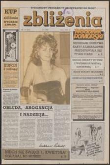 Zbliżenia : Tygodnik Pomorski, 1992, nr 14