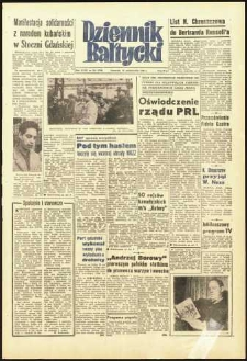 Dziennik Bałtycki 1962, nr 254