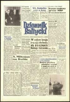 Dziennik Bałtycki 1962, nr 263