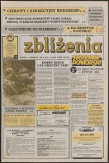 Zbliżenia : Tygodnik Pomorski, 1992, nr 23