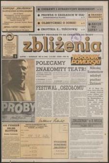 Zbliżenia : Tygodnik Pomorski, 1992, nr 24