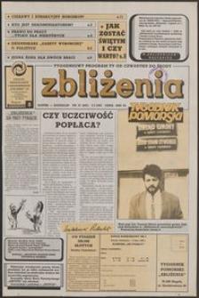 Zbliżenia : Tygodnik Pomorski, 1992, nr 27