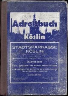 Adreβbuch Köslin 1939